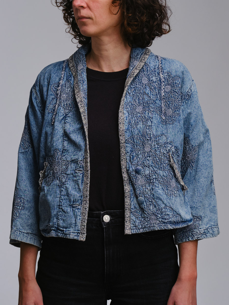 Mamalapuram Vintage Denim Jacket