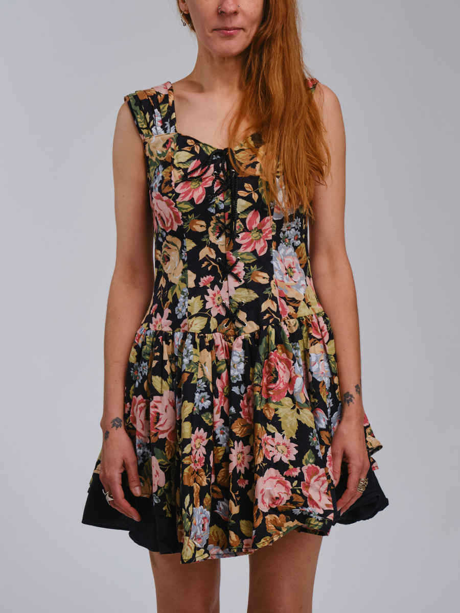 Of Corset Vintage Dress