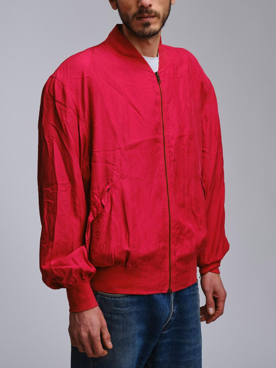 Rasberry Silk Vintage Jacket