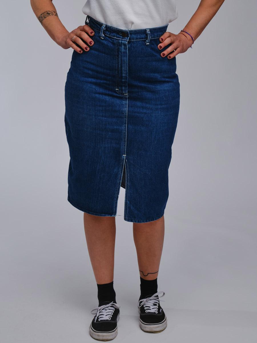 Shades Vintage Denim Skirt