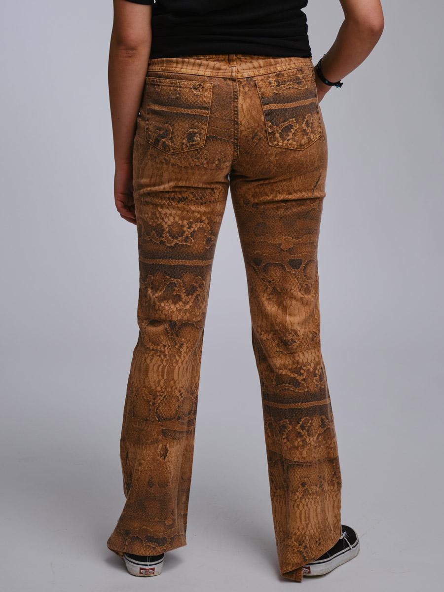 Snakeprint Roberto Cavalli Vintage Jeans
