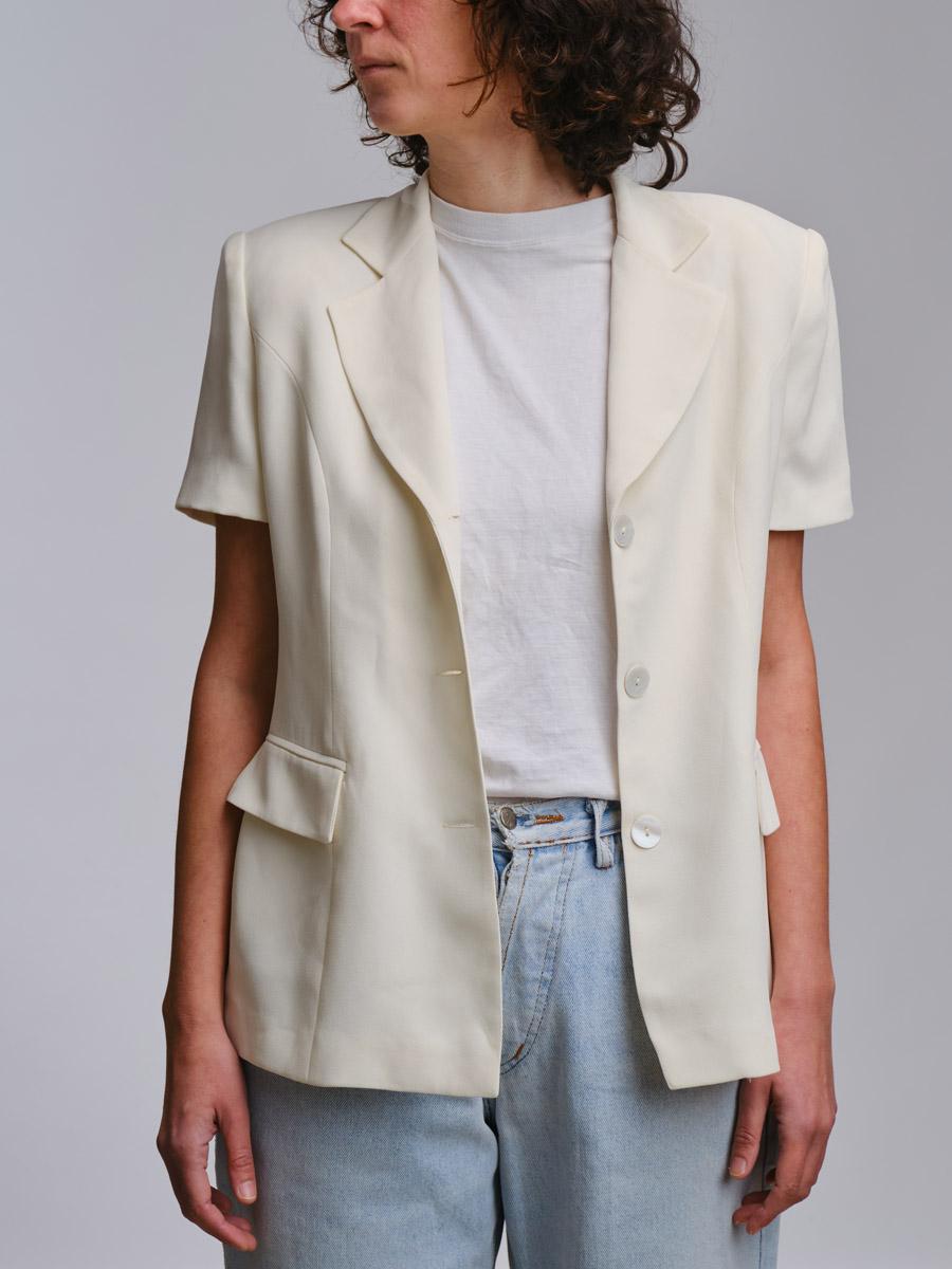 Snowhite Vintage Shortsleeve Blazer