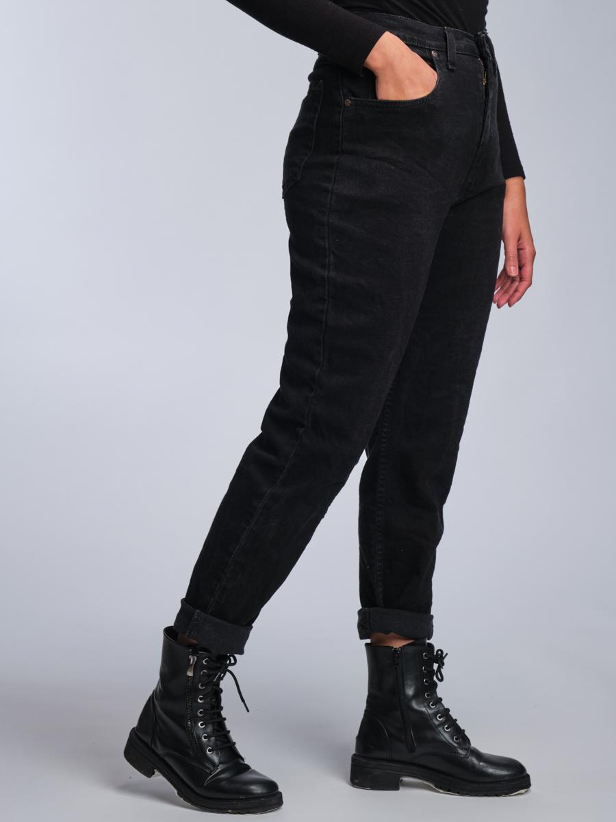 Total Black Wrangler Vintage Jeans