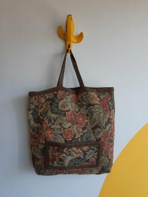 Vintage, tapestry tote