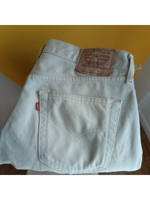 Beige, red tab, Levis, jeans