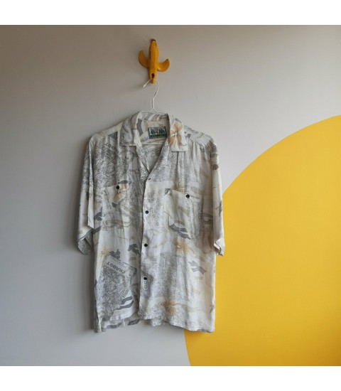 Origami 90s fashion shirt
