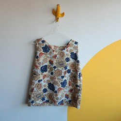 Earthly coloured, 80s, top