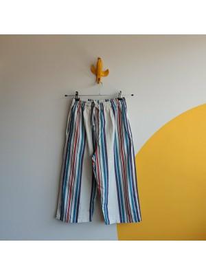 Summer striped vintage capri